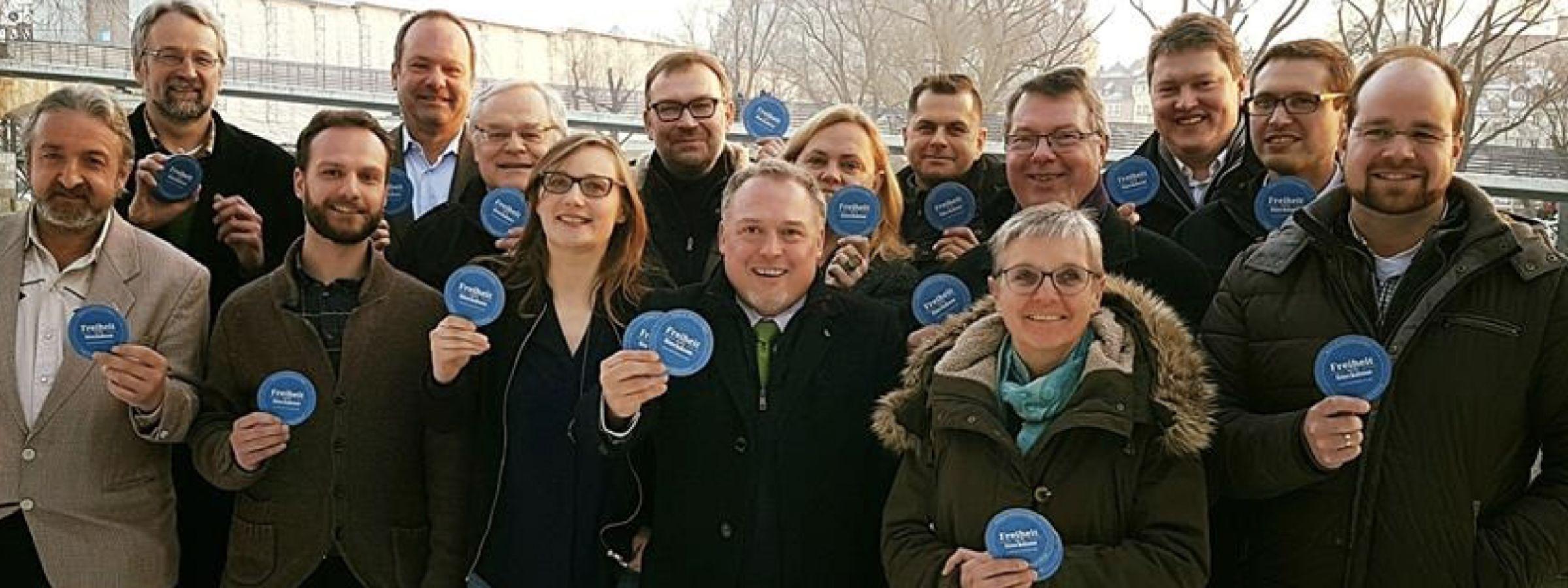 Gemeinsam mehr erreichen: Mitglieder von Bürgerenergie Bayern
